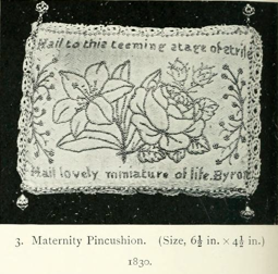 Maternity Pincushion 1830