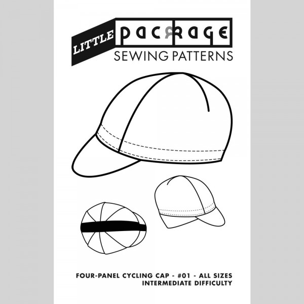Sewing Pattern: Four Panel Cycling Cap - Cover