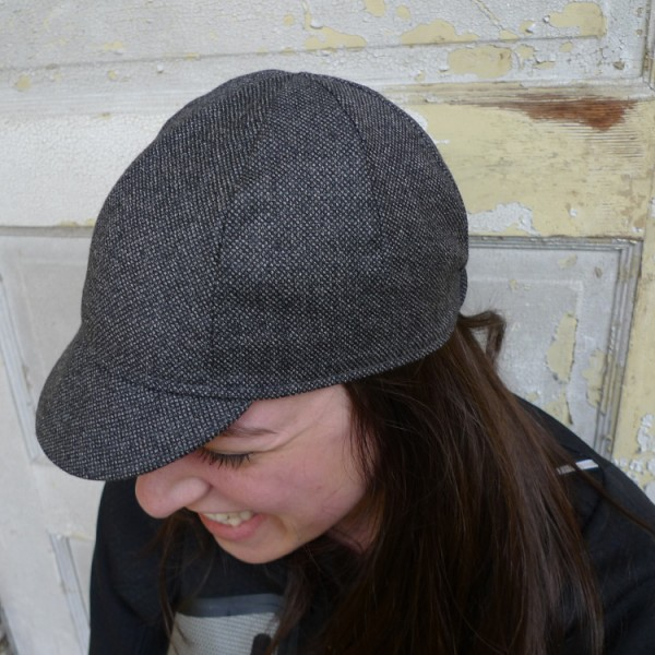 Four Panel Cycling Cap - Example