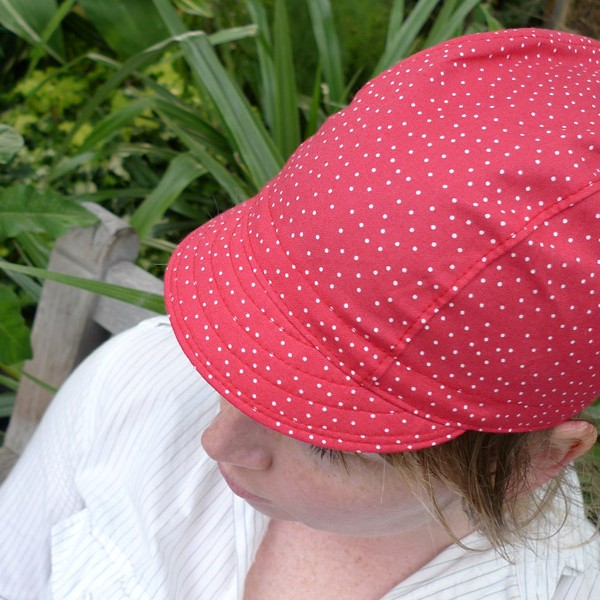 Three Panel Cycling Cap Example