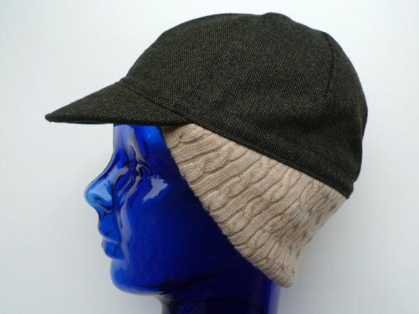 earflap cycling cap