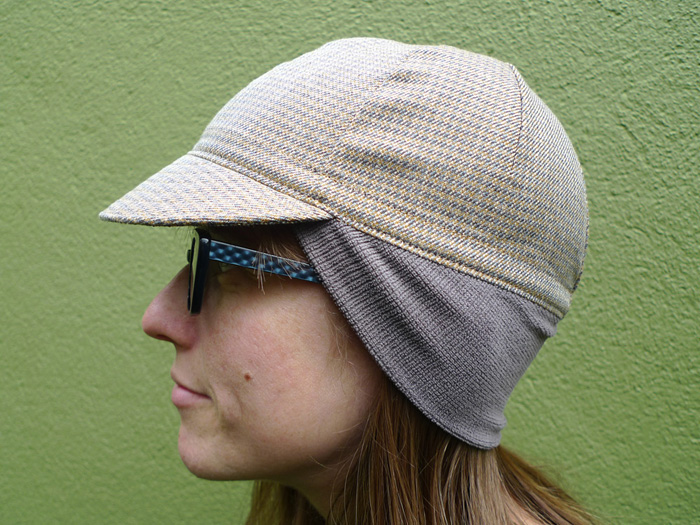 4-Panel Cycling Cap PDF Sewing Pattern – Little Package
