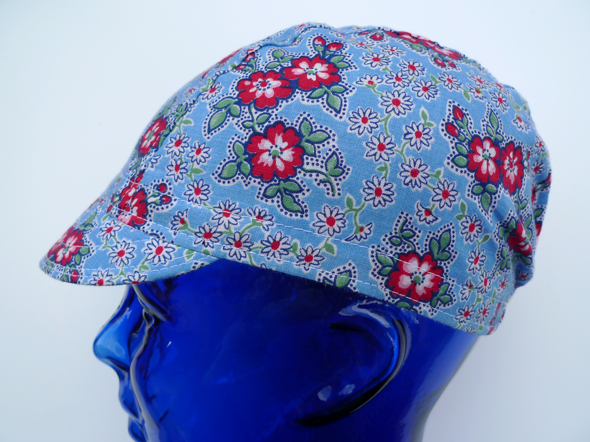 3 Panel Cycling Cap Pdf Sewing Pattern Little Package