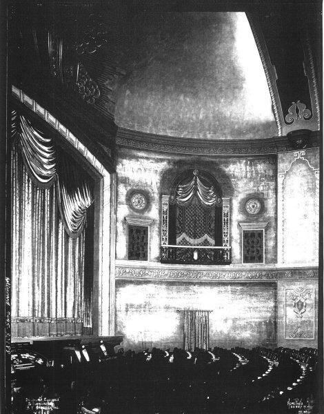 Hollywood Theatre Auditorium Wall - Portland Oregon