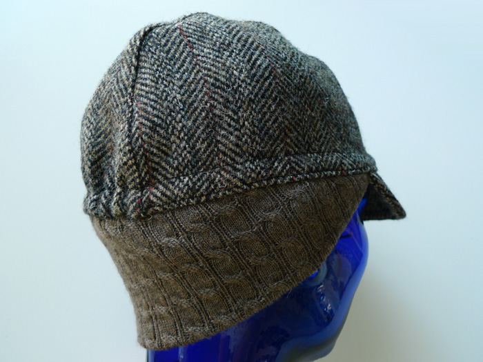 3-Panel Cap Example - With Earflap