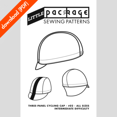 3-panel sewing pattern cover