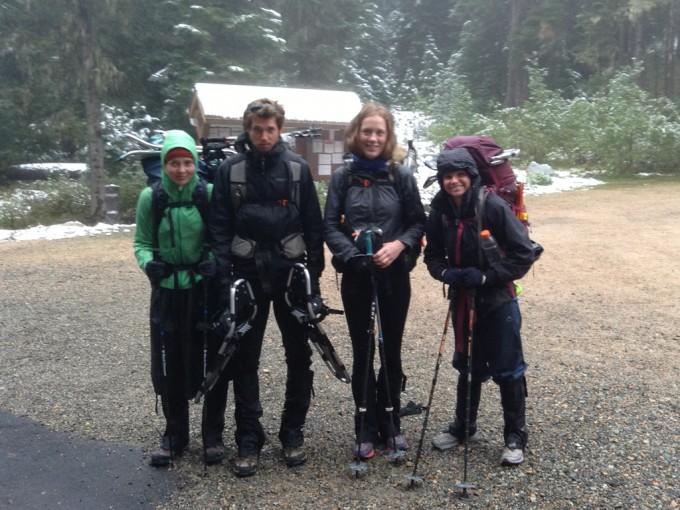 2013 PCT Finishers at Rainy Pass
