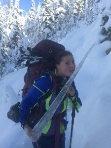 Jess Cherub and the PCT Icicle