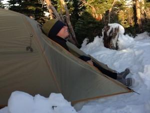 Cherub PCT Snow Camping