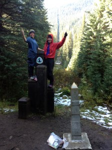 Puppy and Cherub finish the PCT 2013
