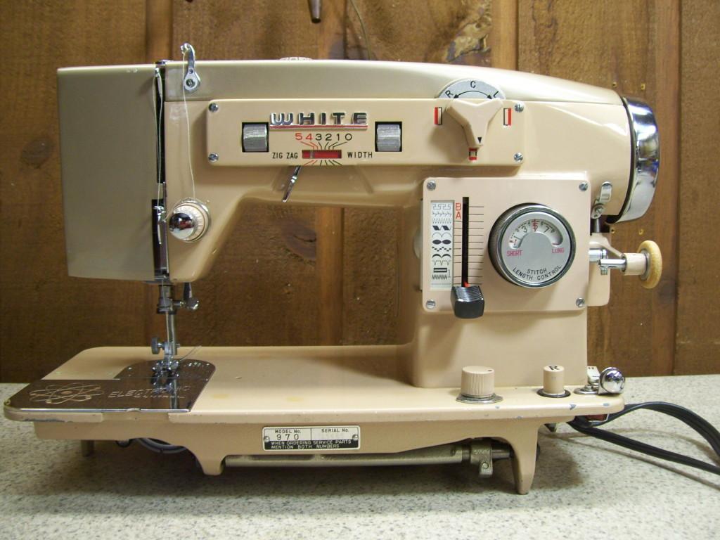 white 1409 sewing machine manual