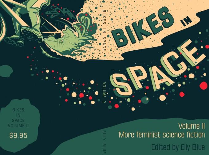 Bikes in Space volume 2 cover art