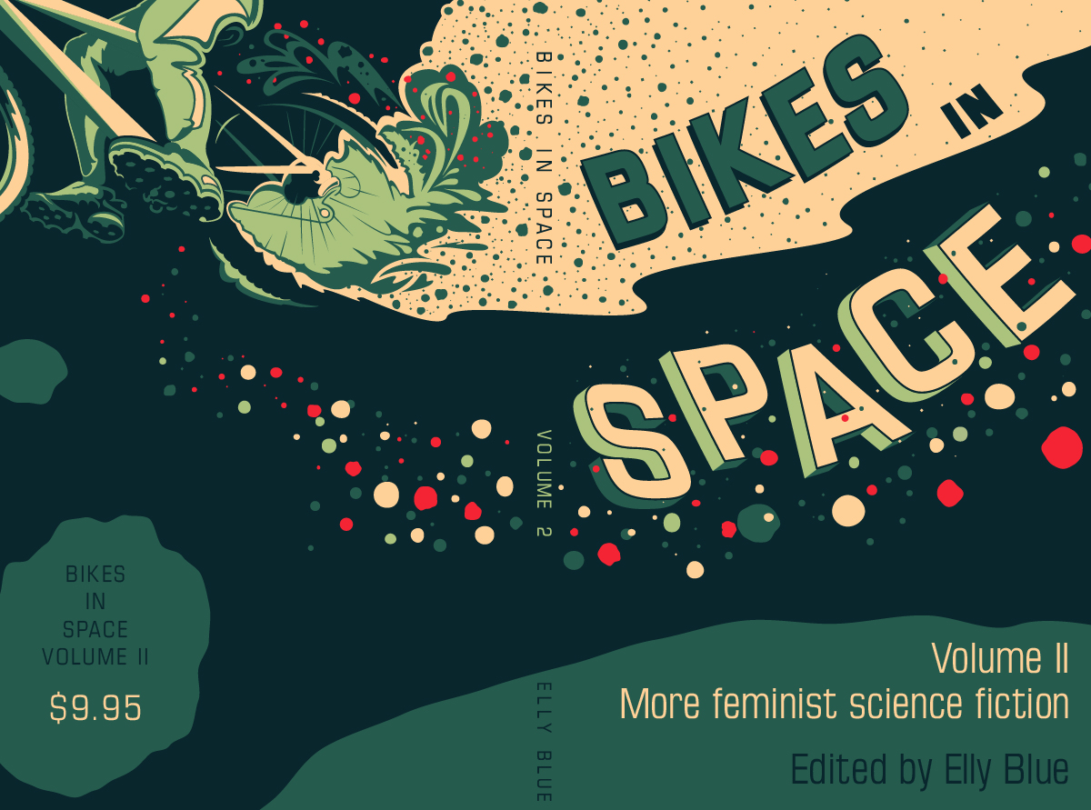 Bikes In Space Illustration Little Package