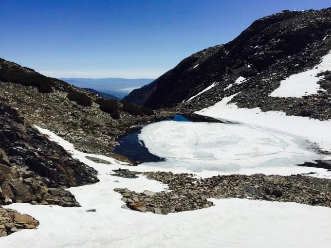 SHR wrong way - view of Mono Lake