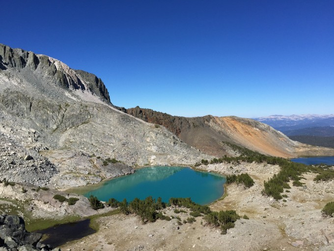 Deer Lakes. It's not Photoshopped, is just that glacial silt in alpine lakes reflects light differently.