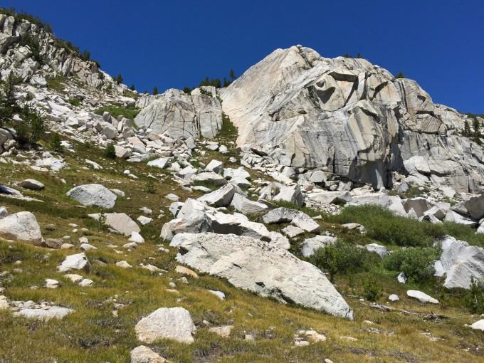 Bighorn Pass, false summit after false summit.