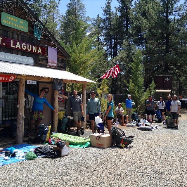 pct hikers mount laguna