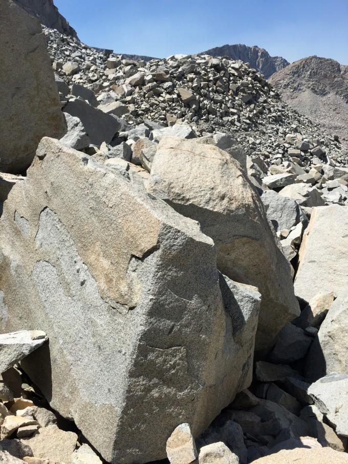 SHR alpine col talus