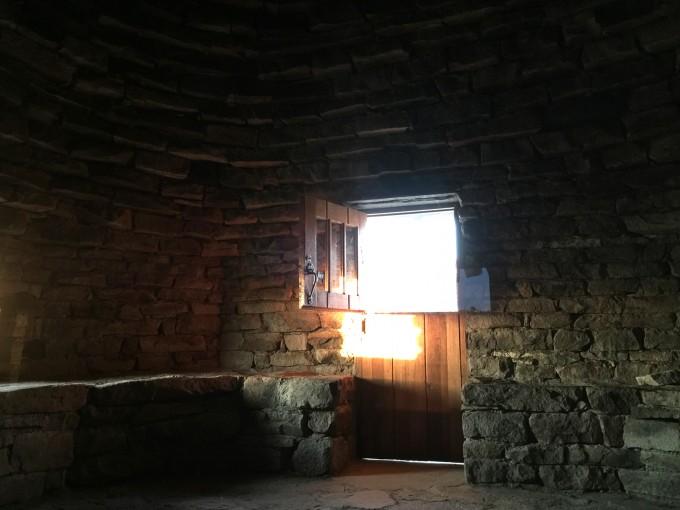 SHR inside the muir hut