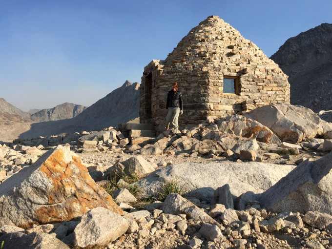 SHR me and the muir hut