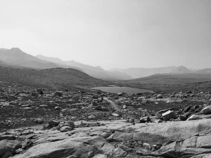 SHR view west of piute pass