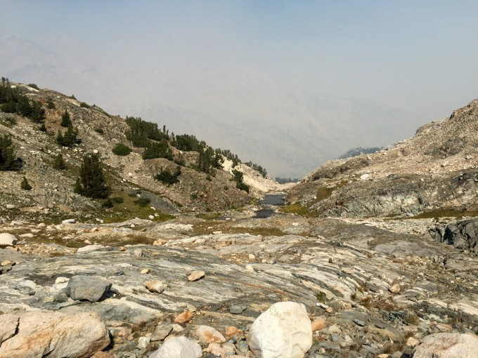 SHR visibility south of muir pass