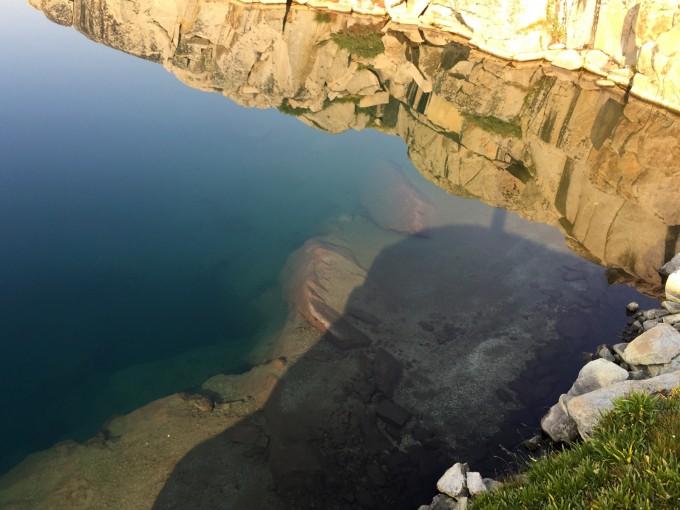 SHR west barrett lake swim