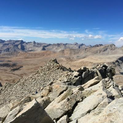Mount Tyndall and Diamond Mesa