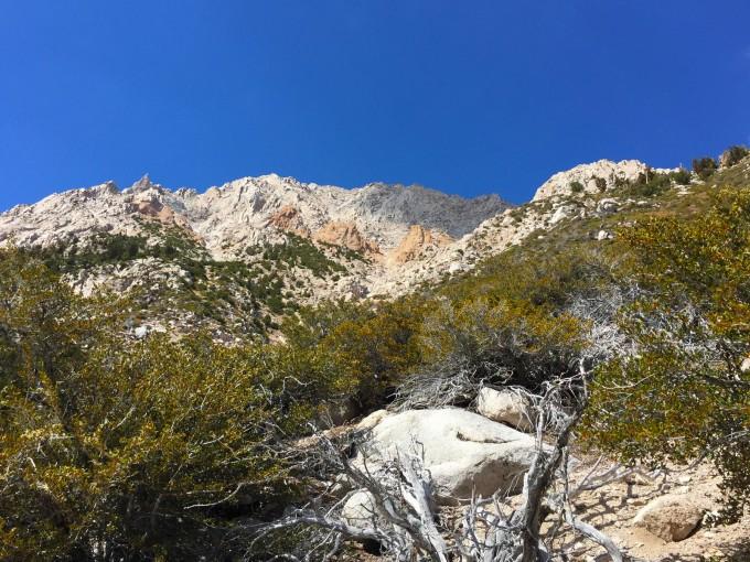 Shepherd Pass trail feature