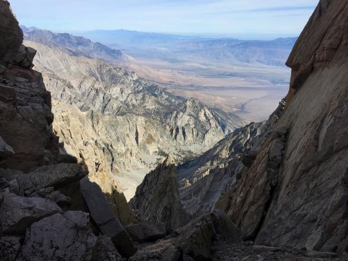 White Mountain from Mount Williamson