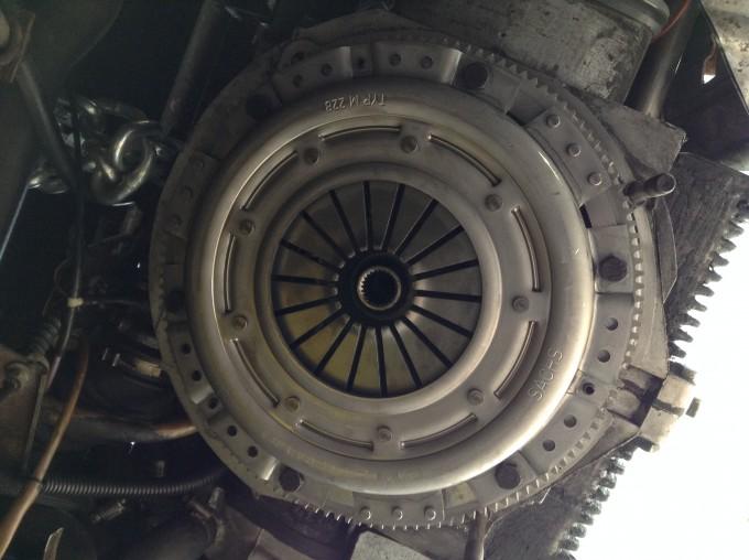 vanagon 1.9L clutch
