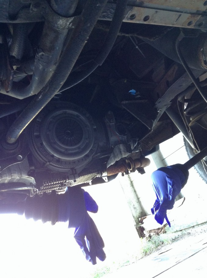Vanagon clutch and cv joints