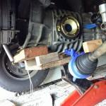 homemade transmission jack