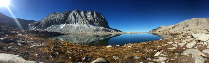Lake Basin panorama looking west