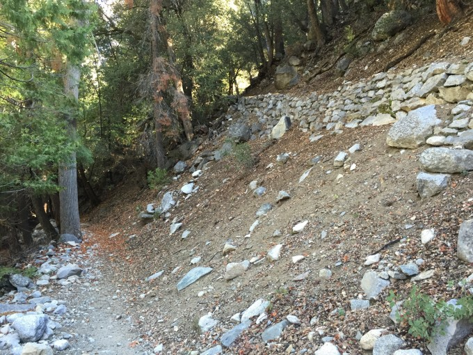 Thank your local trail builder. The Bubbs Creek Trail was rough in places but still an utter treat -- one of my favorite hiking trails yet!