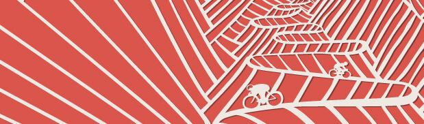 velocipede races close up