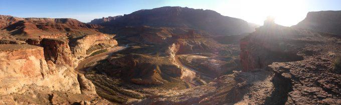 Dirty Devil River Loop Aerial