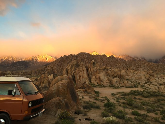 Chief Pete in the Alabama Hills April 18